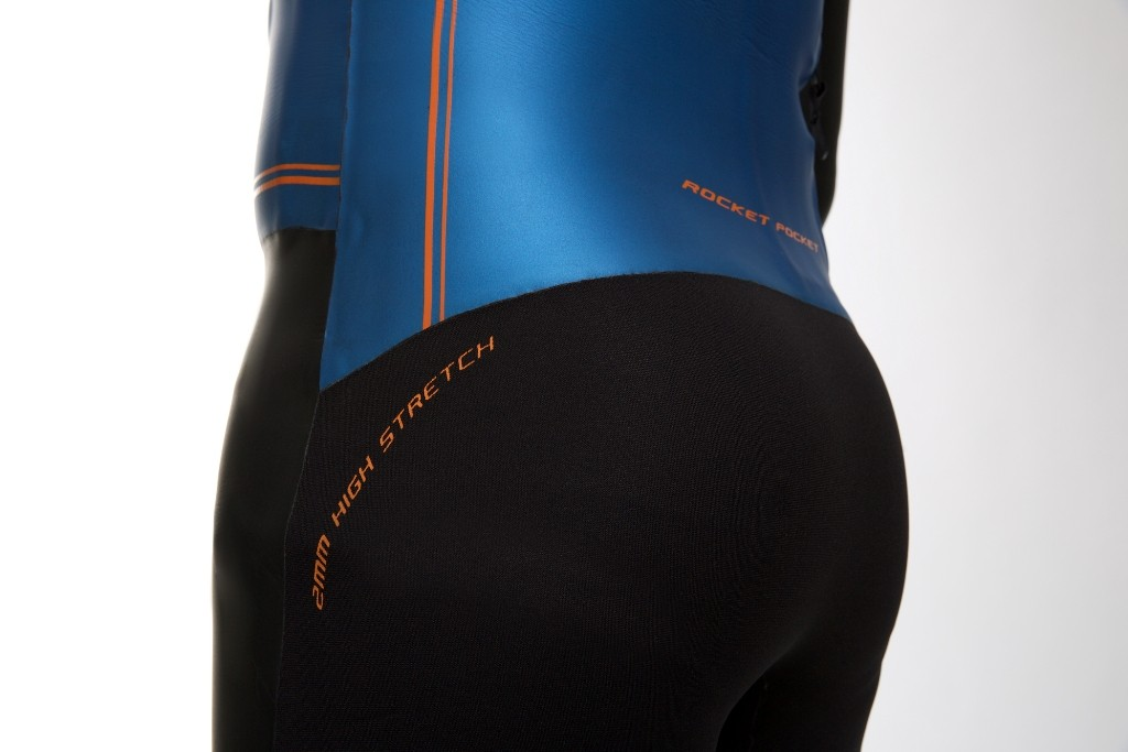 Zone3 Evolution Wetsuit Close Up - Back Side